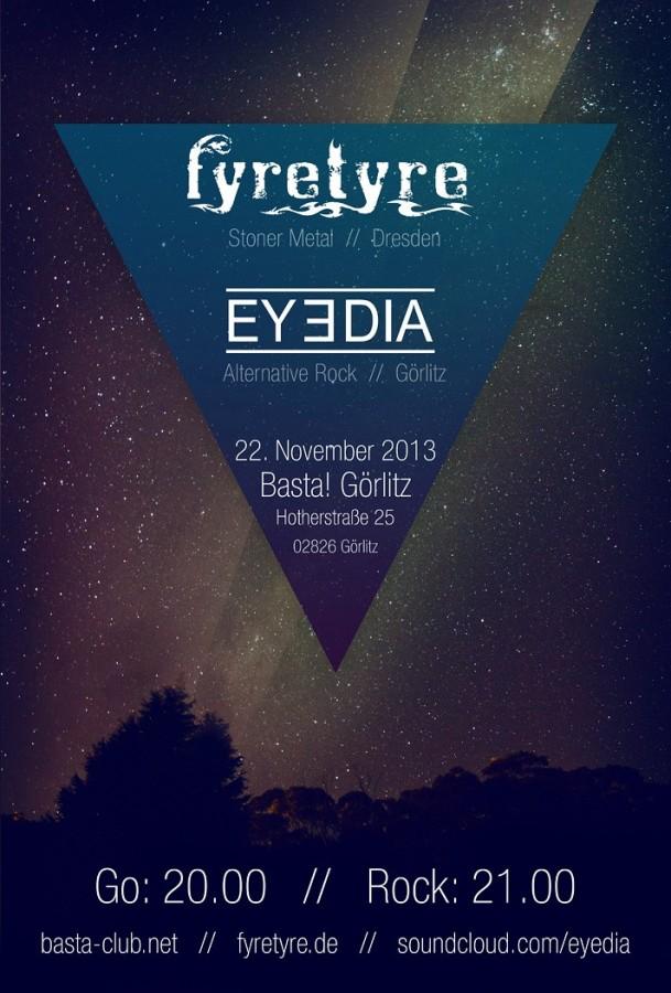 EYEDIA und FYRETYRE Konzi