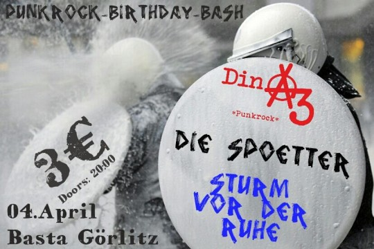 Punkrock Birthday Bash