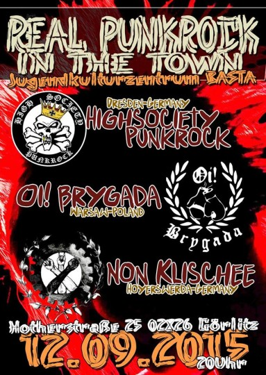 REAL PUNKROCK IN THE TOWN