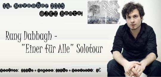 Rany - 'Einer für Alle' Solotour