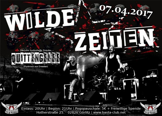 Wilde Zeiten April 217